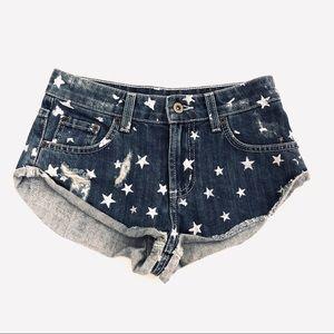 LF Carmar Star Denim Shorts